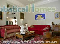 Rome, near Villa Borghese, bright ground floor with independent entrance and patio. Home Rental in Roma, Lazio, Italy 1