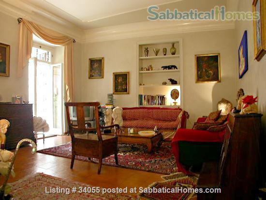 Rome, near Villa Borghese, bright ground floor with independent entrance and patio. Home Rental in Roma, Lazio, Italy 0