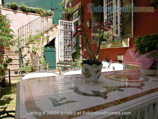 Rome, near Villa Borghese, bright ground floor with independent entrance and patio. Home Rental in Roma, Lazio, Italy 2