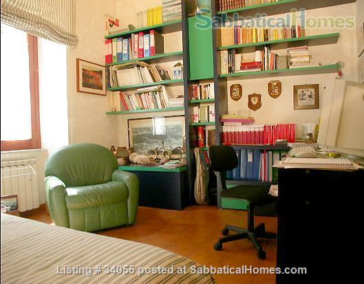 Rome, near Villa Borghese, bright ground floor with independent entrance and patio. Home Rental in Roma, Lazio, Italy 3