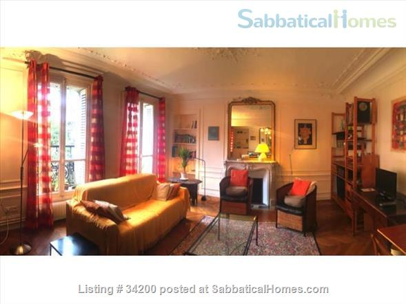 spacious sunny and quiet furnished 2BR near Bastille Home Rental in Paris, IDF, France 1