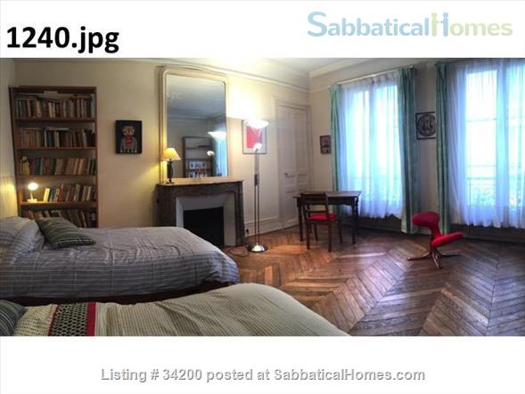 spacious sunny and quiet furnished 2BR near Bastille Home Rental in Paris, IDF, France 0