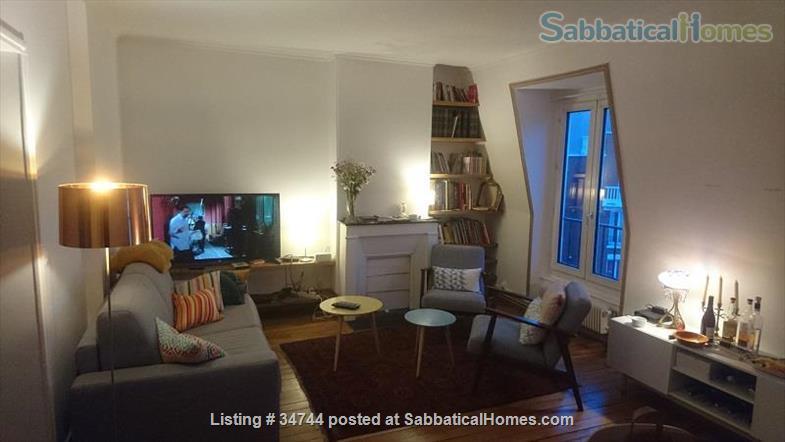 Appartment in Paris, France, ideal for a colleague on sabbatical Home Rental in Paris, Île-de-France, France 1