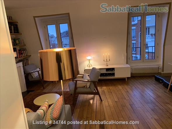 Appartment in Paris, France, ideal for a colleague on sabbatical Home Rental in Paris, Île-de-France, France 0