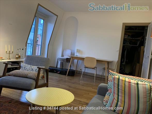 Appartment in Paris, France, ideal for a colleague on sabbatical Home Rental in Paris, Île-de-France, France 2