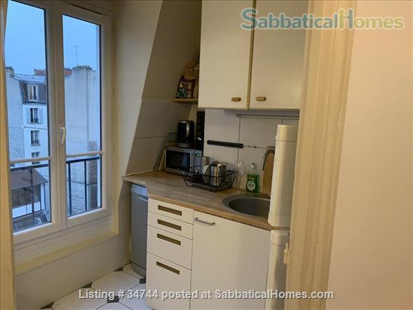 Appartment in Paris, France, ideal for a colleague on sabbatical Home Rental in Paris, Île-de-France, France 3