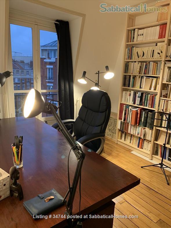 Appartment in Paris, France, ideal for a colleague on sabbatical Home Rental in Paris, Île-de-France, France 6