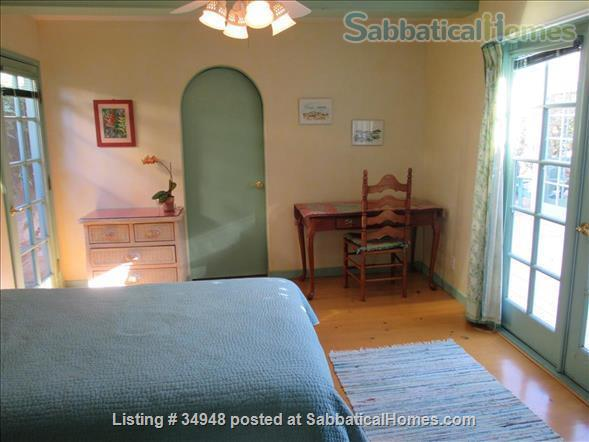 Beautiful Santa Barbara home, 1/2 block from ocean,  with pool, garden, handcrafted details,fireplaces, Home Rental in Santa Barbara, California, United States 6