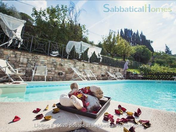 The Charming Villa Nuba  villas-apartments rental in Perugia close University-swimming pool with salt water,jacuzzi,fire places,playground,herb garden,parking,wifi,barbecue,private SPA Home Rental in Perugia, Umbria, Italy 1