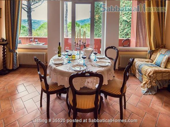 The Charming Villa Nuba  villas-apartments rental in Perugia close University-swimming pool with salt water,jacuzzi,fire places,playground,herb garden,parking,wifi,barbecue,private SPA Home Rental in Perugia, Umbria, Italy 3