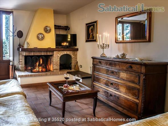 The Charming Villa Nuba  villas-apartments rental in Perugia close University-swimming pool with salt water,jacuzzi,fire places,playground,herb garden,parking,wifi,barbecue,private SPA Home Rental in Perugia, Umbria, Italy 4
