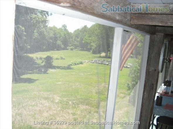 SPECIAL GET-AWAY Secluded Maine Farmhouse- Great for Writing or weekend retreats!Available now for weekends or weeks  Home Rental in Parsonsfield, Maine, United States 2