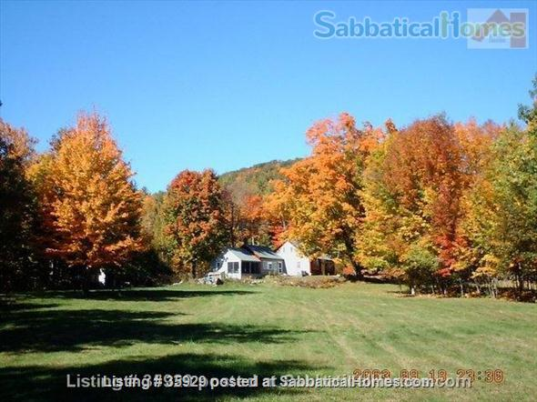 SPECIAL GET-AWAY Secluded Maine Farmhouse- Great for Writing or weekend retreats!Available now for weekends or weeks  Home Rental in Parsonsfield, Maine, United States 1