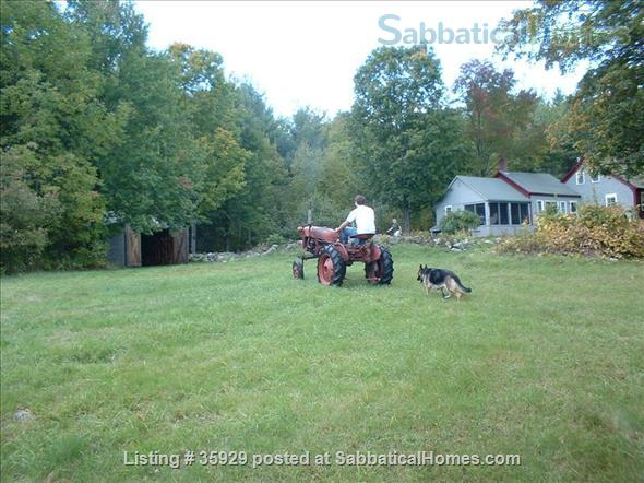 SPECIAL GET-AWAY Secluded Maine Farmhouse- Great for Writing or weekend retreats!Available now for weekends or weeks  Home Rental in Parsonsfield, Maine, United States 6