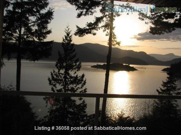 """1Bd oceanfront""""peace of paradise""""     Home Rental in West Vancouver, British Columbia, Canada 1"""