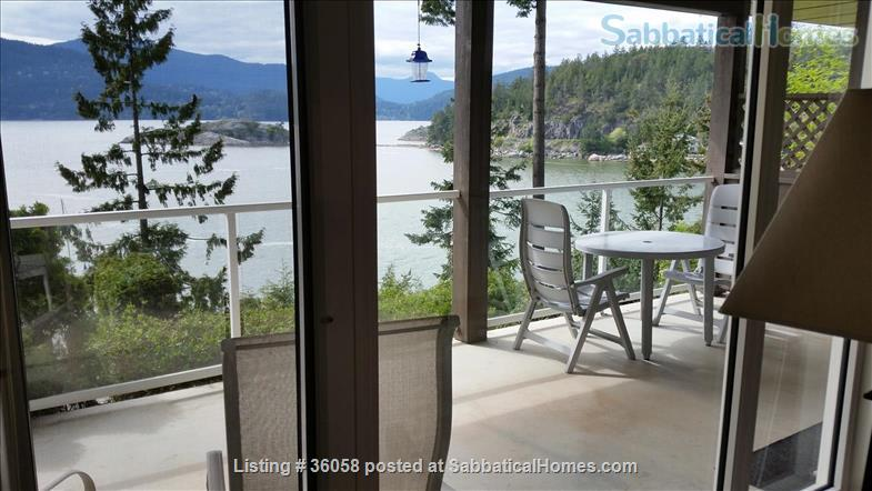 """1Bd oceanfront""""peace of paradise""""     Home Rental in West Vancouver, British Columbia, Canada 6"""