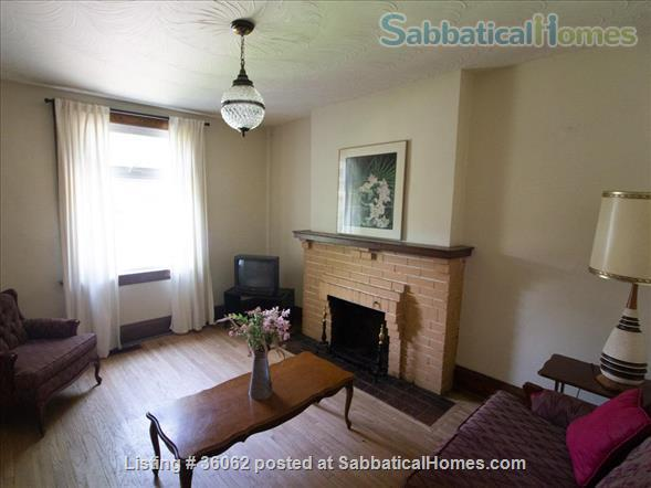 Comfortable and cozy  furnished home in High Park/Bloor West Village Home Rental in Toronto, Ontario, Canada 2