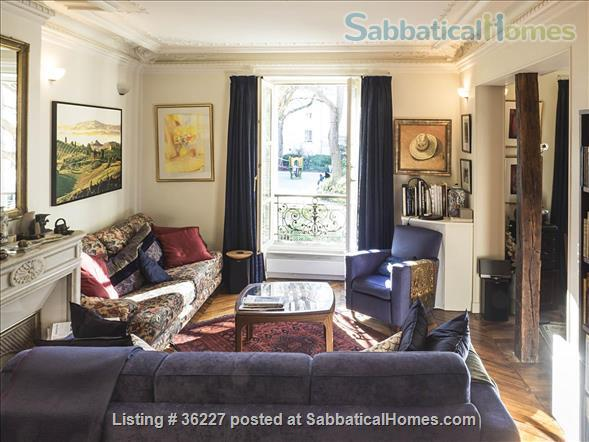 Elegant Paris apartment in the 5th (nr Mouffetard) Home Rental in Paris, IDF, France 1