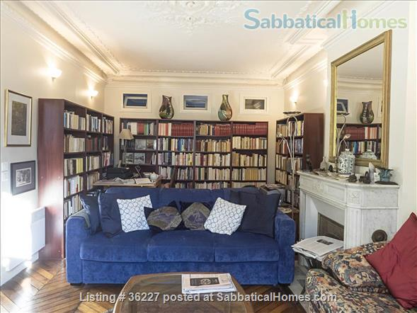 Elegant Paris apartment in the 5th (nr Mouffetard) Home Rental in Paris, IDF, France 0