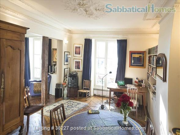 Elegant Paris apartment in the 5th (nr Mouffetard) Home Rental in Paris, IDF, France 2