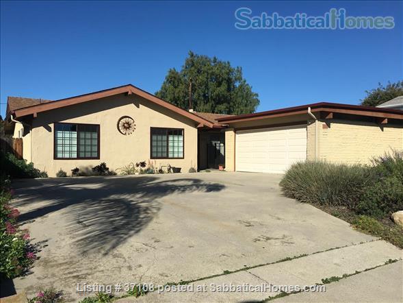 Furnished 3BD, 2BA home Home Rental in Goleta, California, United States 1