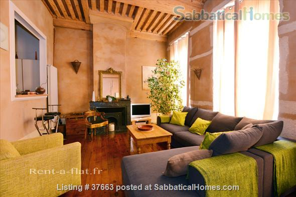Lyon FRANCE - Furnished apartment - Old Downtown Home Rental in Lyon, RA, France 1