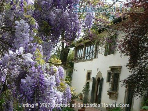 indipendent Apartments and rooms in an  Art  Residency  XIV cent. Villa  green area in Florence hill Home Rental in Città Metropolitana di Firenze, Toscana, Italy 1