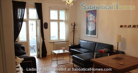 Wonderful light-filled one-bedroom near canal, Berlin Home Rental in Berlin, Berlin, Germany 1