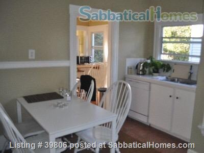 Secluded Elmwood Edwardian 8 blocks  to UC Berkeley & 2 to College Ave. Home Rental in Berkeley, California, United States 3