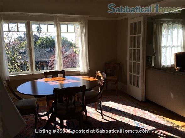 Secluded Elmwood Edwardian 8 blocks  to UC Berkeley & 2 to College Ave. Home Rental in Berkeley, California, United States 6