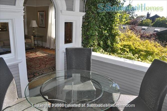 Secluded Elmwood Edwardian 8 blocks  to UC Berkeley & 2 to College Ave. Home Rental in Berkeley, California, United States 2