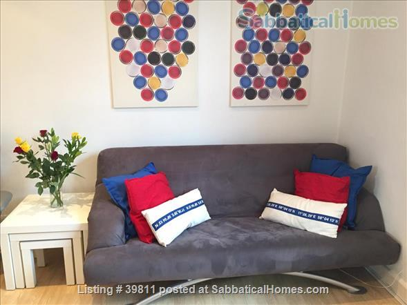 attractive one-bed Bloomsbury flat  Home Rental in London, England, United Kingdom 1