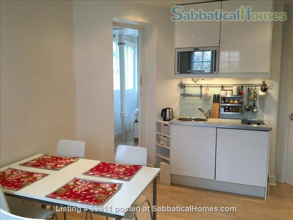 attractive one-bed Bloomsbury flat  Home Rental in London, England, United Kingdom 0