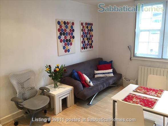 attractive one-bed Bloomsbury flat  Home Rental in London, England, United Kingdom 2