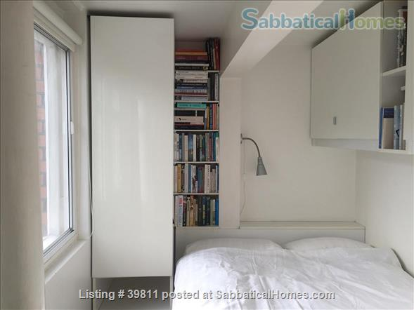 attractive one-bed Bloomsbury flat  Home Rental in London, England, United Kingdom 4