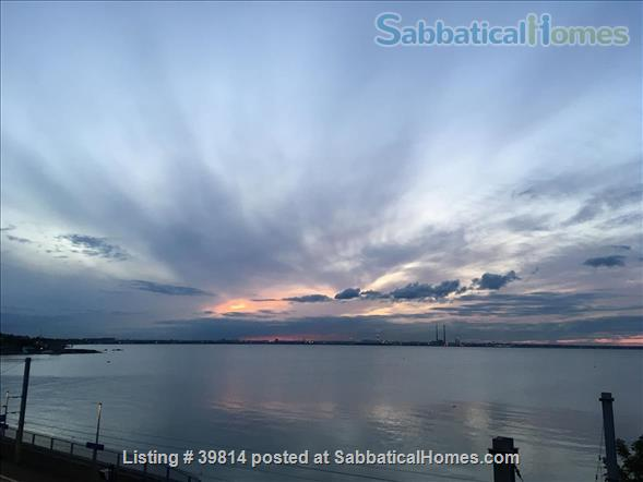 Lovely light 2-bedroom flat with seaviews, close to Trinity College Dublin and city centre. Home Rental in Blackrock, Dublin, Ireland 1