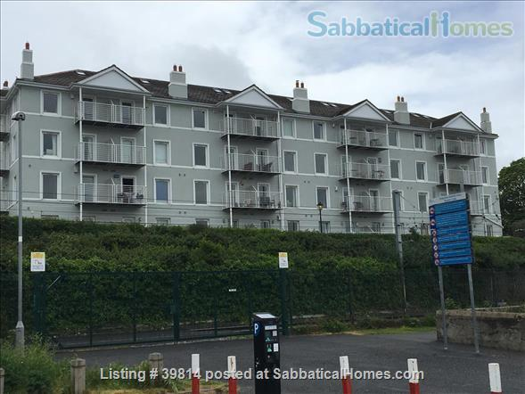 Lovely light 2-bedroom flat with seaviews, close to Trinity College Dublin and city centre. Home Rental in Blackrock, Dublin, Ireland 0