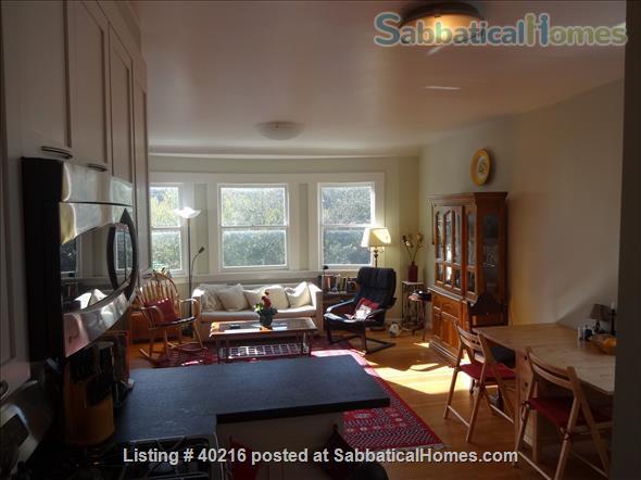 Beautiful flat to rent in quiet elegant neighborhood in San Francisco Home Rental in San Francisco, California, United States 2