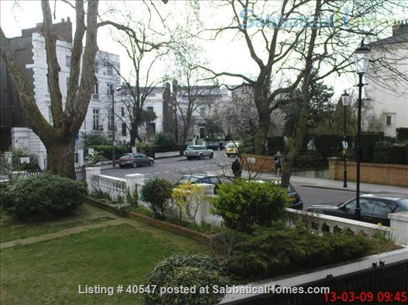 Notting Hill - sunny one-bedroom flat , minutes from tube Home Rental in Greater London, England, United Kingdom 6