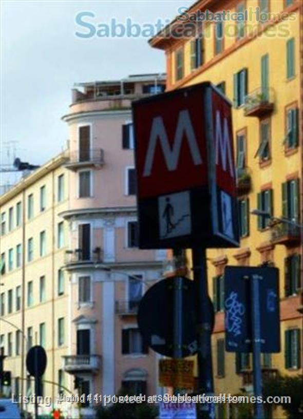 Quiet by San Giovanni Metro stop_near FAO _Wireless_Furnished_Excellent reviews! Home Exchange in Rome, Lazio, Italy 1