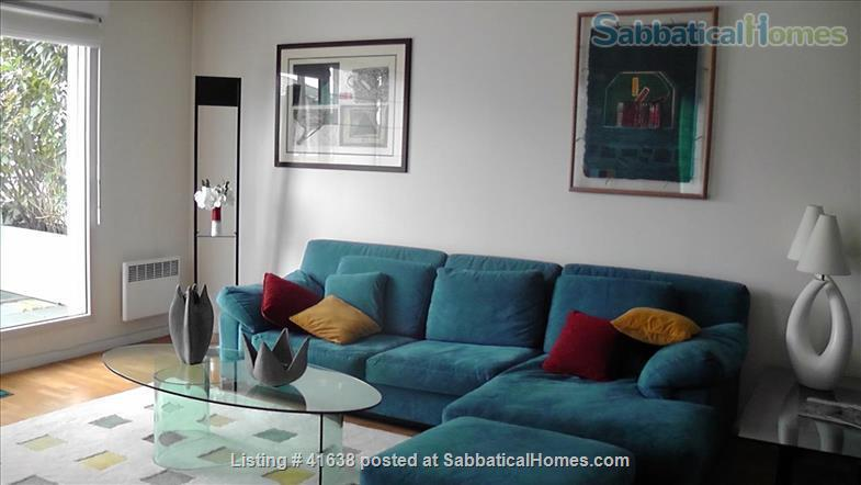 Luxury apartment located across from the park and on the canal - quiet location away from the crowds; perfect for work and study. Home Rental in Paris, IDF, France 0