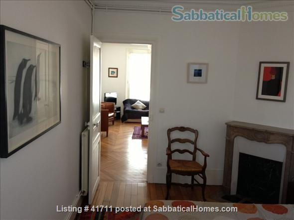 Attractive & spacious, great natural light, fully equipped as second home Home Rental in Paris, IDF, France 2