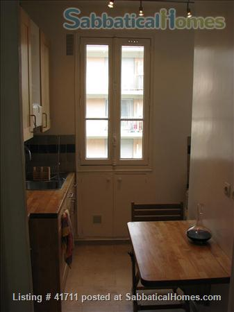 Attractive & spacious, great natural light, fully equipped as second home Home Rental in Paris, IDF, France 8