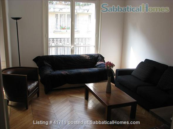 Attractive & spacious, great natural light, fully equipped as second home Home Rental in Paris, IDF, France 4