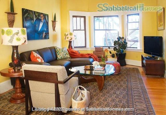 Beautifully furnished,fully equipped, bright and quiet Noe Valley Retreat Home Rental in San Francisco, California, United States 1