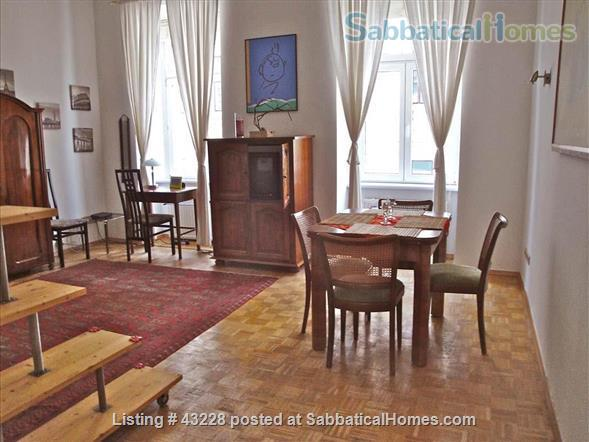Comfortable flat in central Vienna for 2-4 people within walking distance to University Home Rental in Vienna, Wien, Austria 1