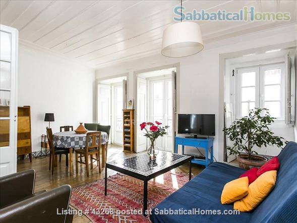 Spacious Apartment in the the Heart of Lisbon - Alfama Home Rental in Lisbon, Lisbon, Portugal 1