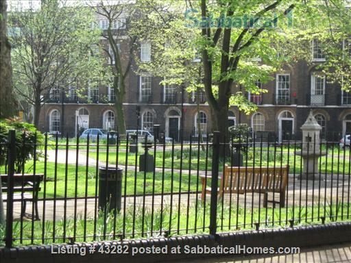 Central London one bed flat on garden square Home Rental in Greater London, England, United Kingdom 1
