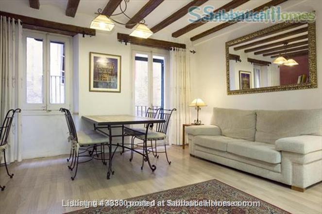 Plaza Catalunya -- Gothic Quarter - just 6  min to beach - 2 bedroom apt   Home Rental in Barcelona, Catalunya, Spain 1