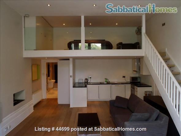 PRIME LOCATION !!! ALL UTILITIES, TV CABLES AND WIFI INCLUDED. Stunning Studio Loft in the heart of Belsize Park, one of London's most sought after neighbourhoods. Home Rental in London, England, United Kingdom 3